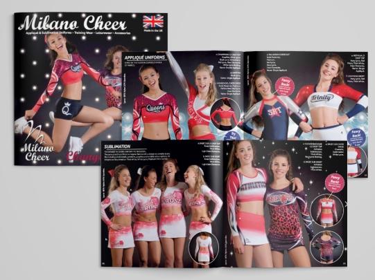 Milano Cheerleading Brochure