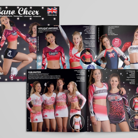 Milano Cheerleading Brochure