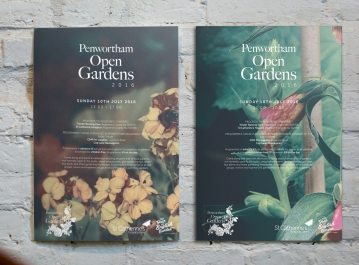 Branding for Penwortham Open Gardens Charity