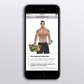 Personal Training site content