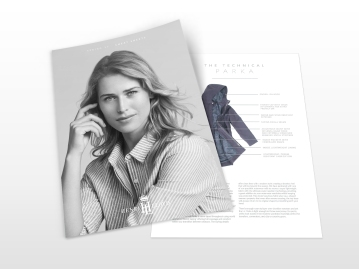Henri Lloyd marketing materials